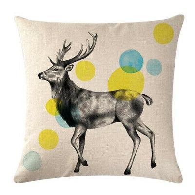 Sketch Animal Decor Sofa Throw