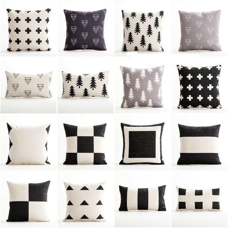 Sofa Pillow Cushion Cover Nordic Geometric Home