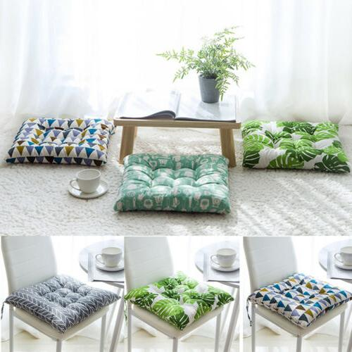 Soft Indoor Home Kitchen Cushion Seat Pads Tie Chair