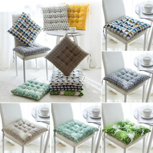 Soft Kitchen Cushion Seat Pads Tie On-Square