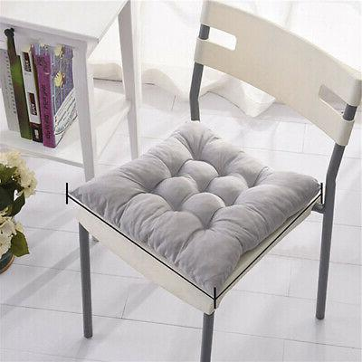 1x Tie On Chair Cushion Seat Dining Garden Home