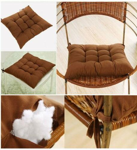 Soft Square Seat Cushions Home Garden Chair Pads
