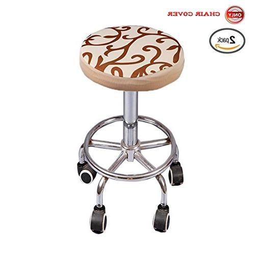 soft stretchable round bar stool