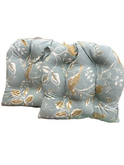 Square 14X14 Chair Cushion Pads Kitchen Patio 4