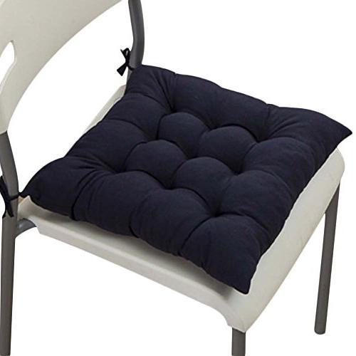 square cotton chair seat cushion