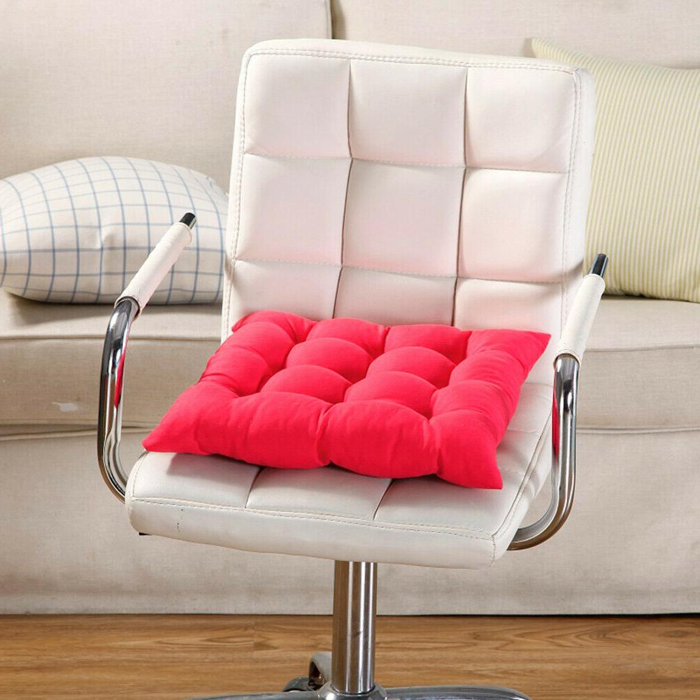 Square Cotton Soft Cushion Buttocks Mat Pads Office Decor