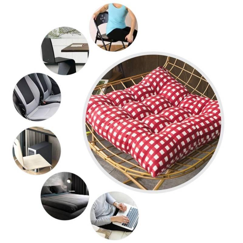 40*40cm Cushion Seat Car Sofa Office -Square 4 Colors