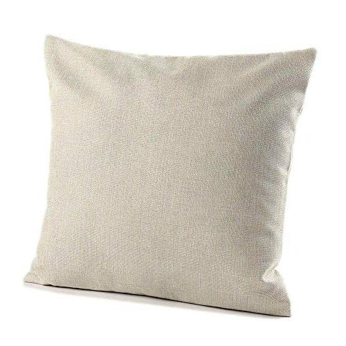 MOWANG Square Home Decorative Cotton Throw Cushion Cover Pillow 18''-Wave Patterns