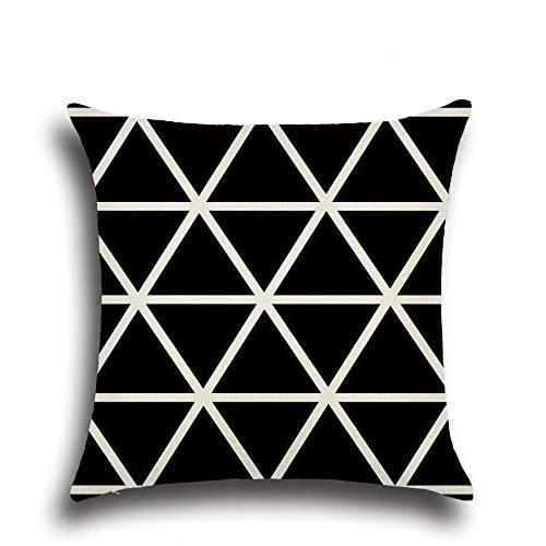 MOWANG Square Case Home Cotton Throw Cushion Pillow Patterns