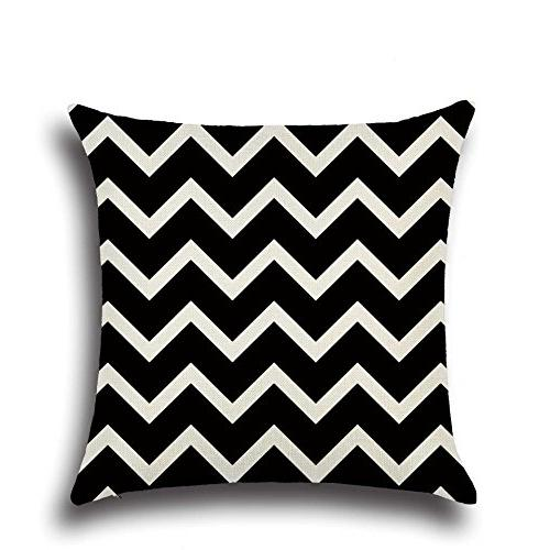 MOWANG Home Throw Cover Pillow Covers18 18''-Wave Patterns 6Packs