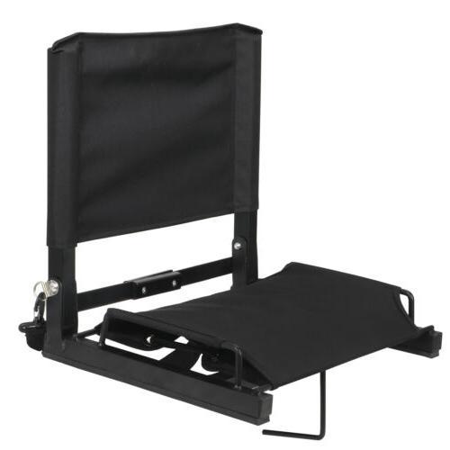 Stadium Chairs With Backs Cushion Frame Folding