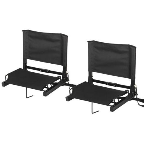 Stadium Seat Chairs Cushion Steel Folding