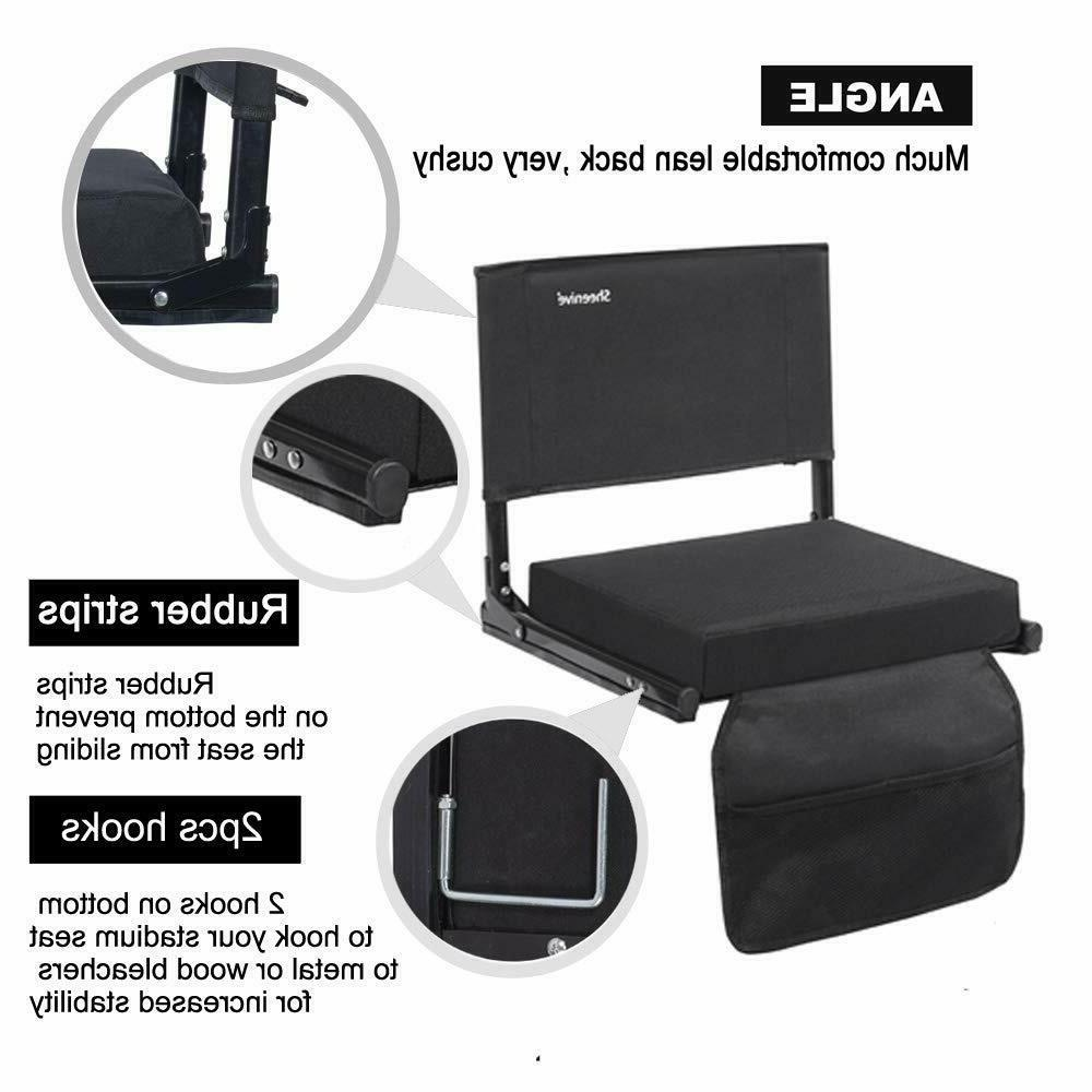 Stadium Seats for Wide Cushion Seats Chairs