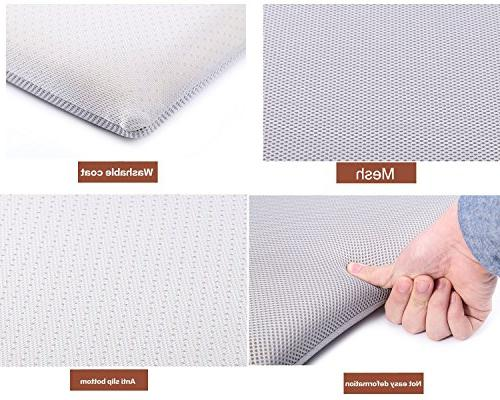 YIHANG FOAM CUSHION FOR --Portable for Home Office, Computer, Driving, Seat,