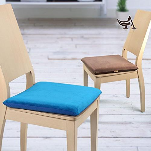 YIHANG Summer MEMORY CUSHION FOR ANY SEAT --Portable Chair Seat Pad for Home Computer, Couch, Seat,
