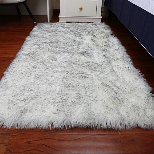 super soft faux fur sheepskin