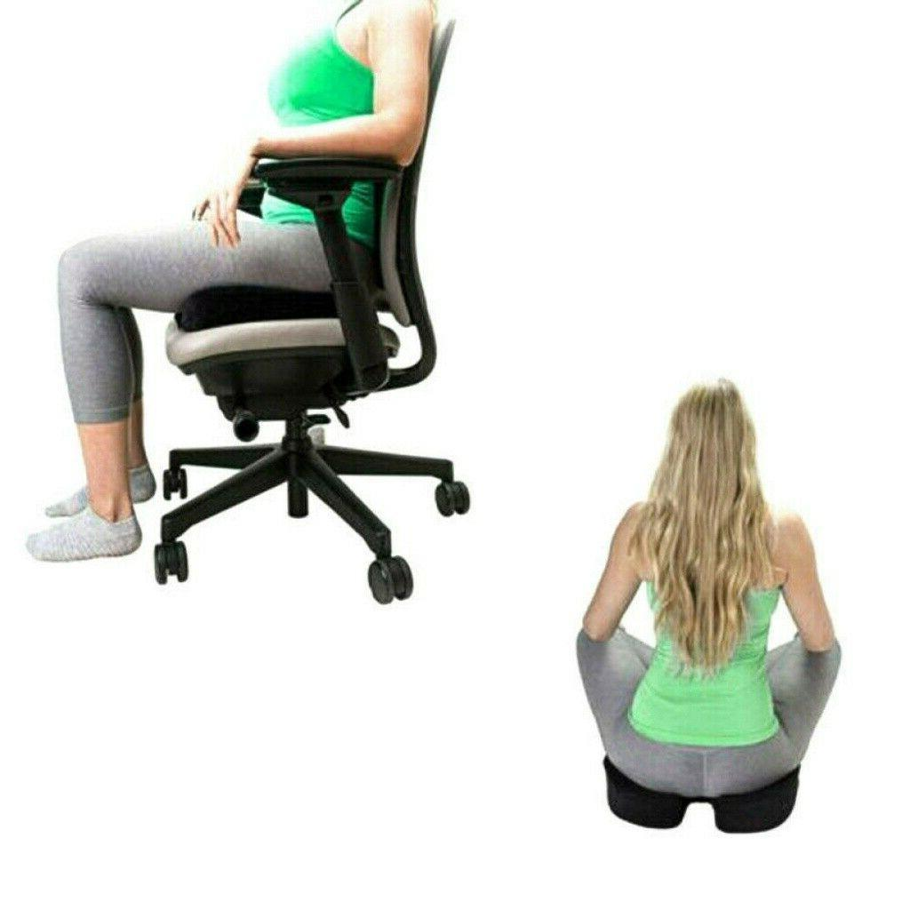 Tailbone Coccyx Back Seat Cushion Office Memory Pillow