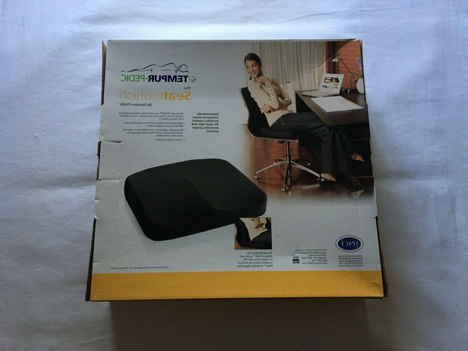 the seat cushion by tempur pedic new