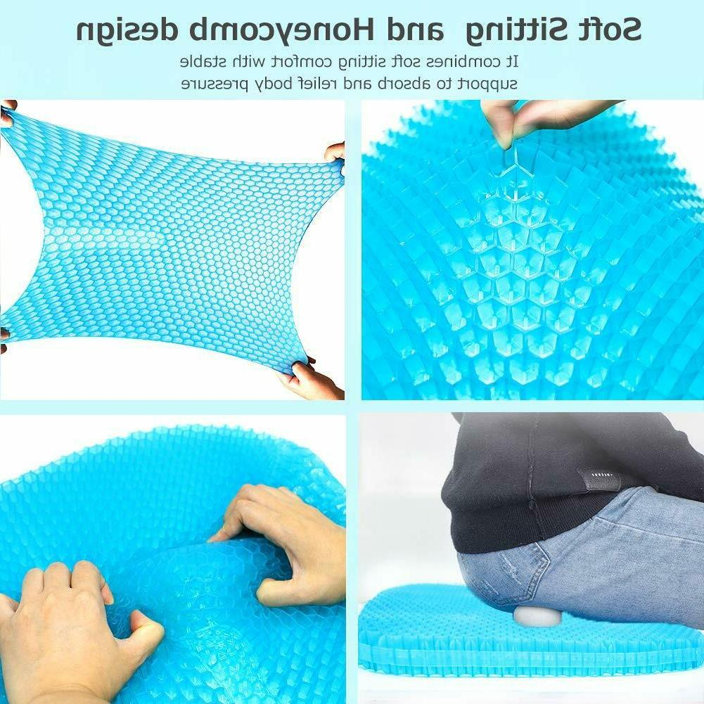 Large Gel with Non Seat Cover For Cars Office Chairs