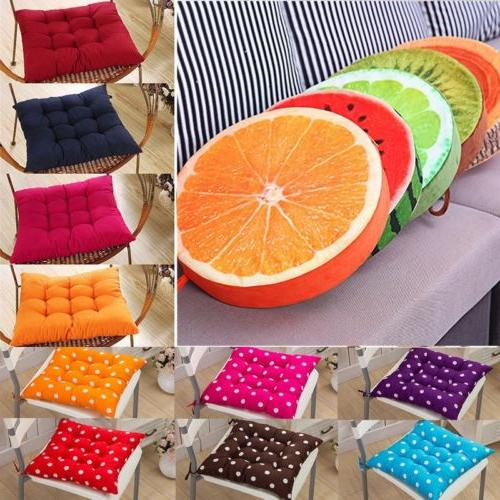 tie on soft chair cushion seat pads