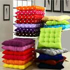 Tie On Soft Chair Cushions Seat Pads Pillow Garden Dining Ro