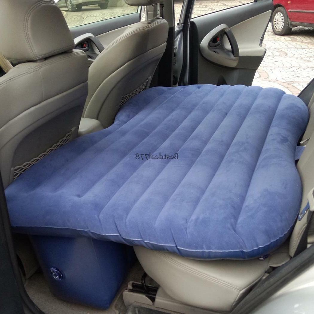 Travel Camping Air Bed Inflatable Mattress Seat Cushion 2 Pillows