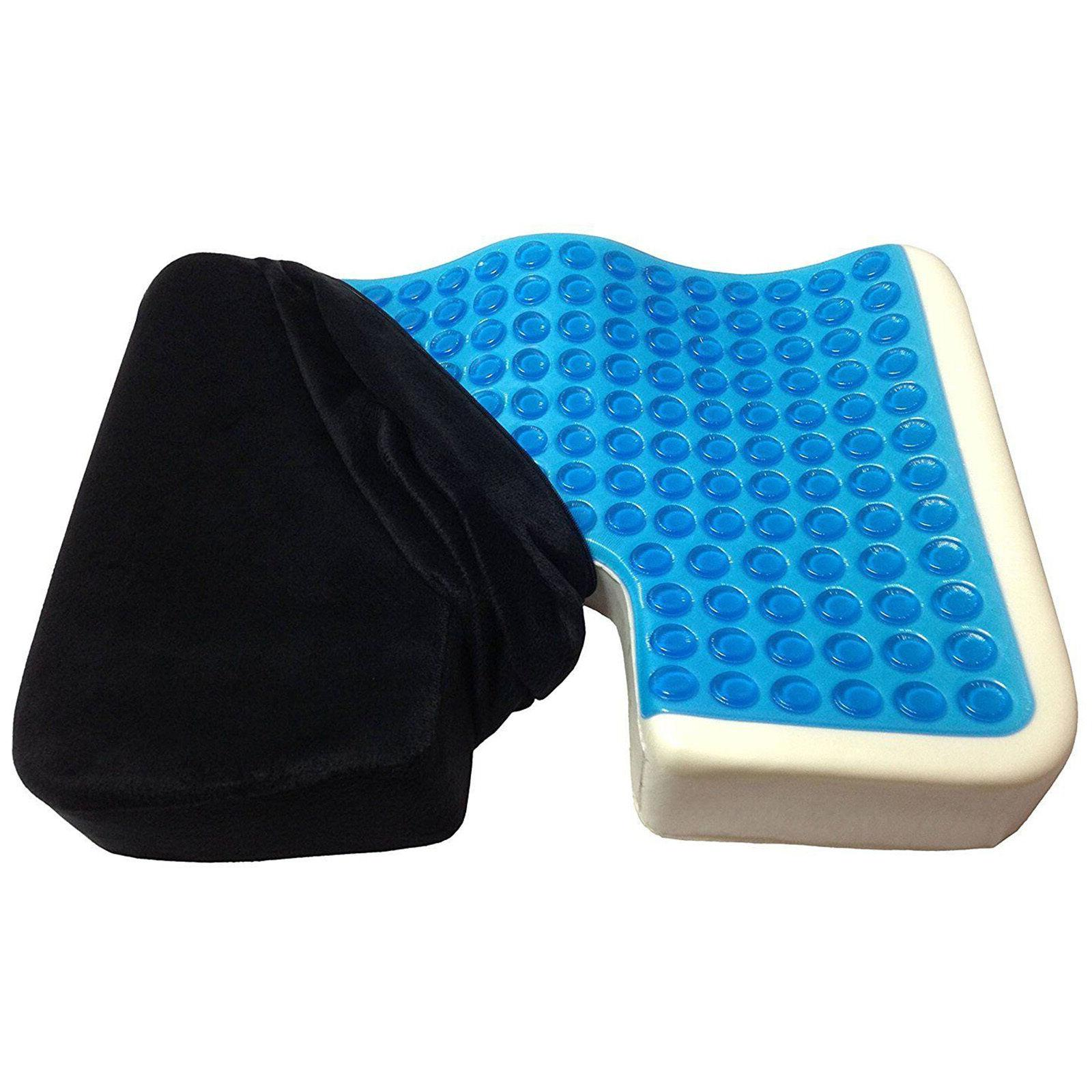 Truck Driver Cushion Memory Pain Tailbone Large Support