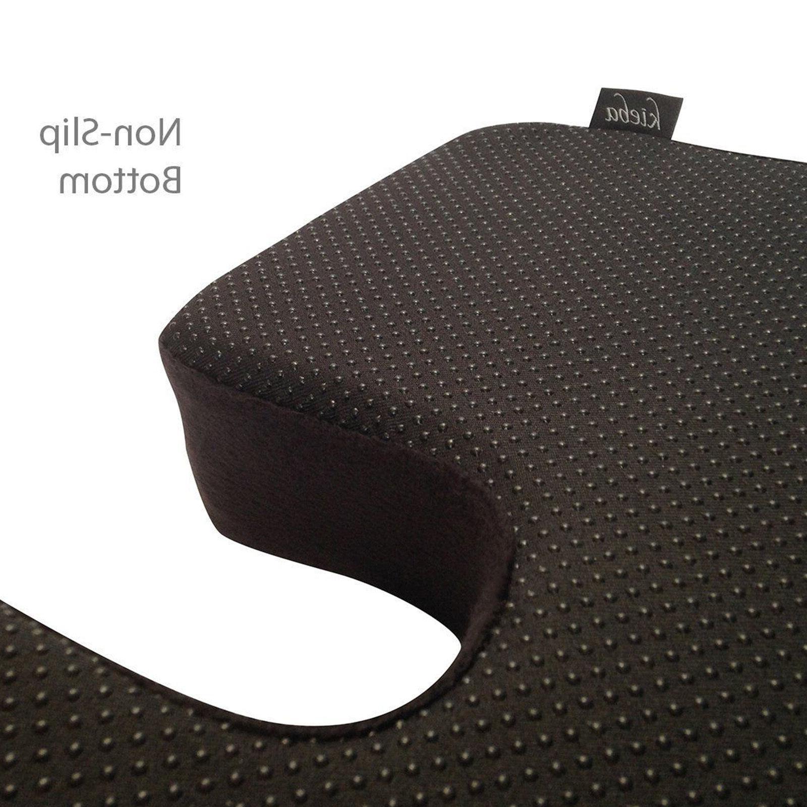 Truck Seat Cushion Memory Foam Tailbone Large