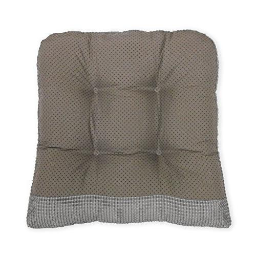 Arlee Seat Cushion, of Two Chair Alloy Gray, Piece