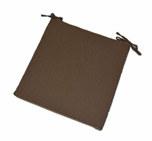 universal chair seat cushion w ties solid