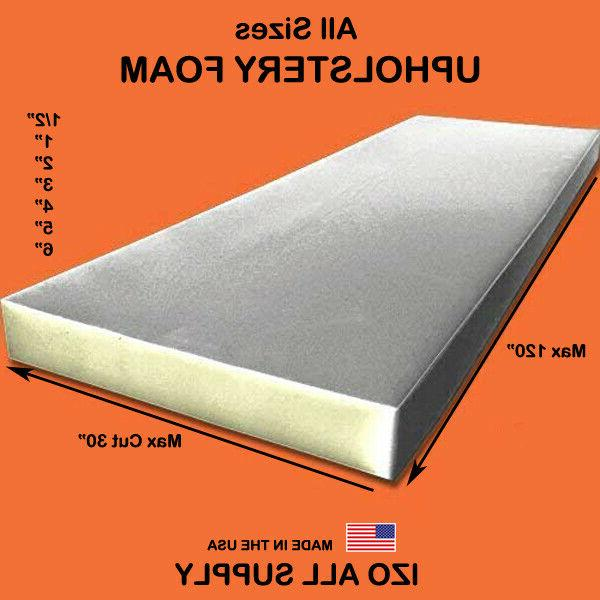 upholstery seat foam cushion replacement high density