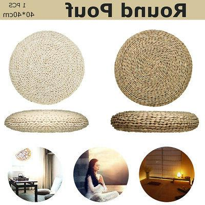 US Grass Pillow Pouf Floor Seat
