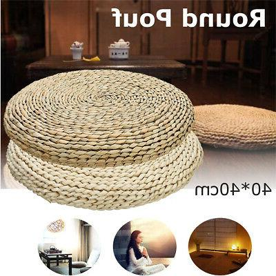us 16 grass weave yoga cushion pads