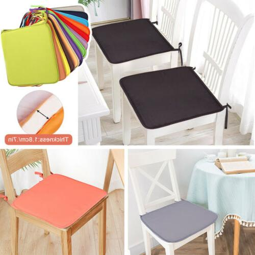 US Seat Pads Indoor Home Dining Kitchen Office Chair Tie On - Square
