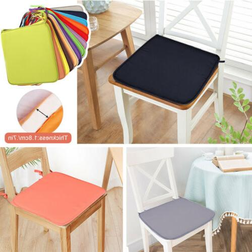 US Seat Pads Indoor Dining Kitchen Chair Tie On -