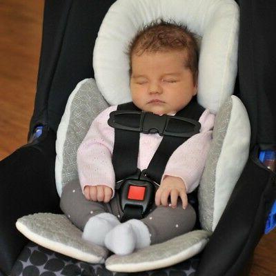 Newborn Baby Car Stroller Liner Cushion Mat Pushchair Cotton Pad Cover
