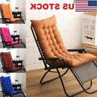 US Stock Deck Chair Cushion Comfy Patio Backyard Garden Seat