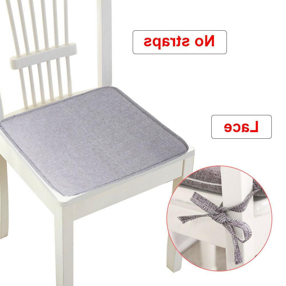 Removable Chair Seat Pads Tie Soft Decor