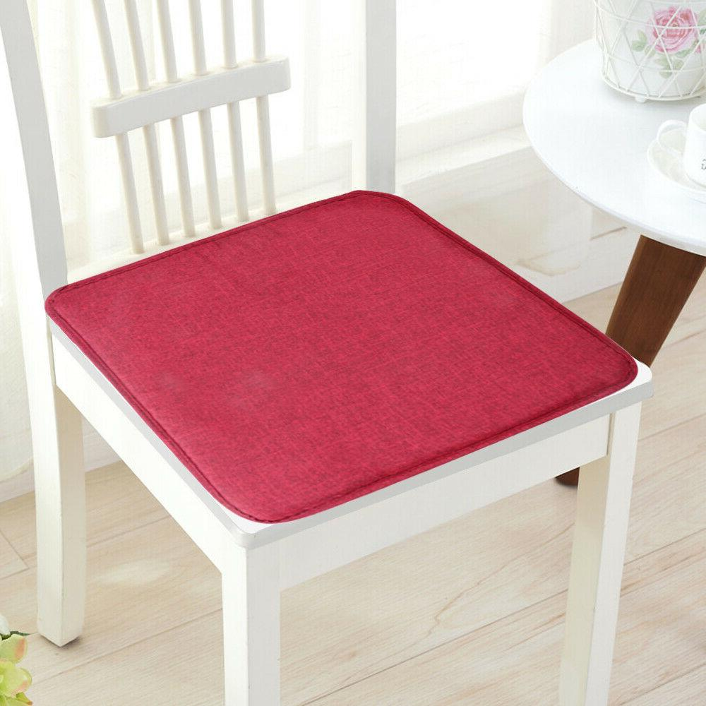 Removable Chair Cushion Pads Tie On Soft Seat Room Decor Mat