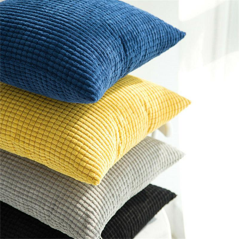 Waist Sofa Cushion Cover Corn velvet