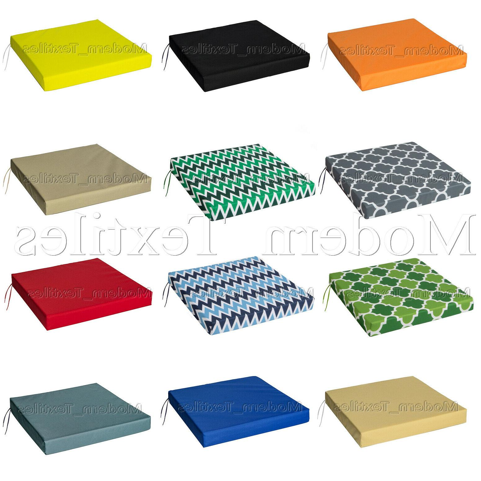 waterproof chair cushion seat pads outdoor tie