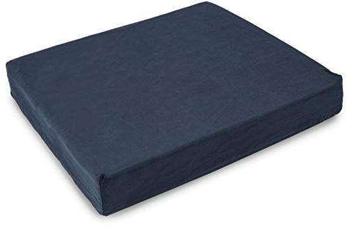 DMI Polyfoam Cushion, Foam Cushion Support, Comfort, and Stress Navy, 3 x inches