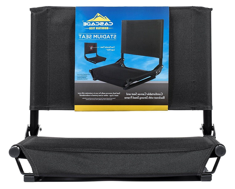 Cascade Mountain Tech WIDE Stadium Seat Black