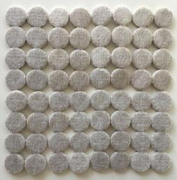 Lot of 64 Non Slip Felt Pads For Furniture Floor Protector T