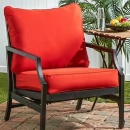 Outdoor Lounge Chair Cushion, Salsa