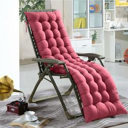 Lounge Chair Cushion Tufted Soft Deck Chaise Padding Outdoor