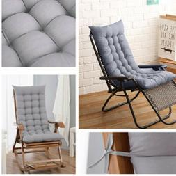 Lounger Outdoor High Back Chair Cushion Pillow Indoor Outdoo