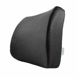 PharMeDoc Lower Back Pain Pillow - Lumbar Support Memory Foa