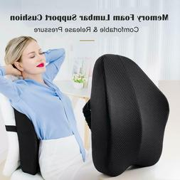 Lumbar Cushion Back Support Pillow Memory Foam Car Seat Offi