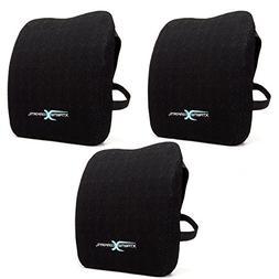 Lumbar Pillow -100% Memory Foam Lumbar Cushion - Adjustable